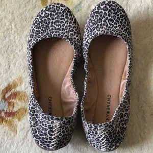 Lucky Brand Shoes - Lucky Brand leopard ballet flats-size 8.5